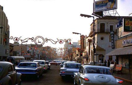 Sunset Blvd 1960's